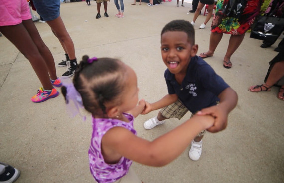 Sports Zone Presents The Get Kids Movin Event at National Harbor