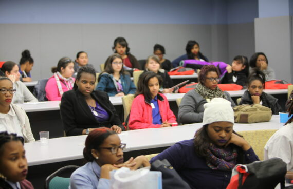 OSSE Young Women's Conference on College & Careers 2015