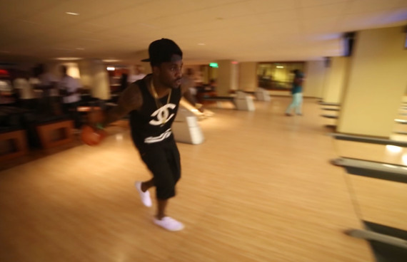 NBA Players Bowling for Charity Fundraiser Event at Pinstripes