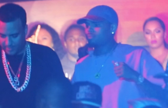 Chris Brown Concert After Party at Bliss Night Club